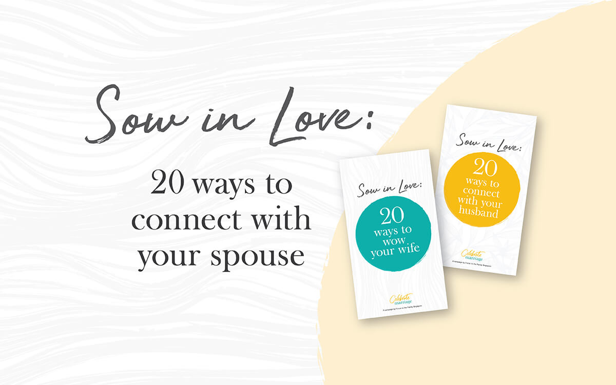 Sow in Love: 20 Ways to Connect with Your Spouse
