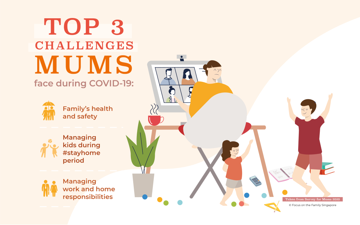 Top 3 Challenges Mums in Singapore Face