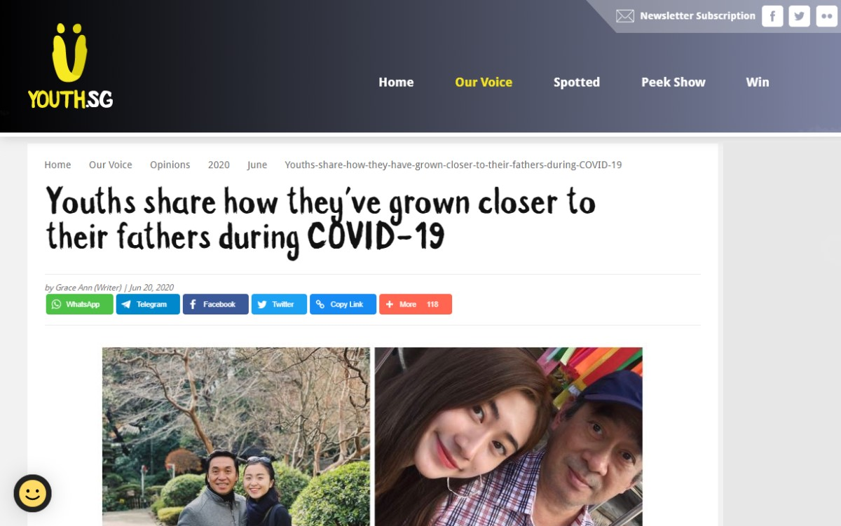 Youths Share How They've Grown Closer to Their Fathers During COVID-19